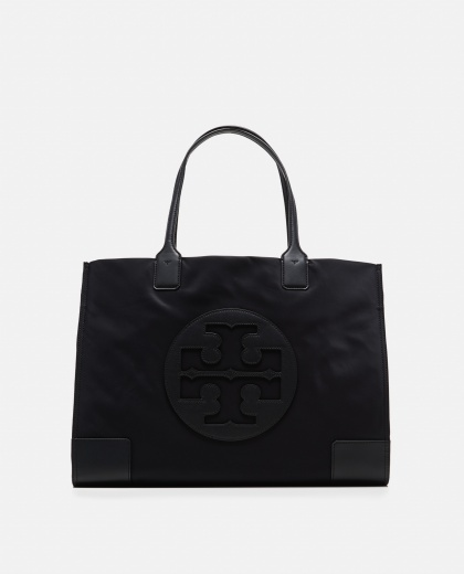 Ella black medium tote bag Women Tory Burch 000181980027059 1