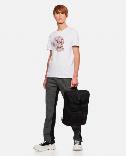 T-shirt with print Men Alexander McQueen 000290990042841 2