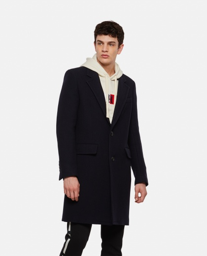 Coat with two buttons