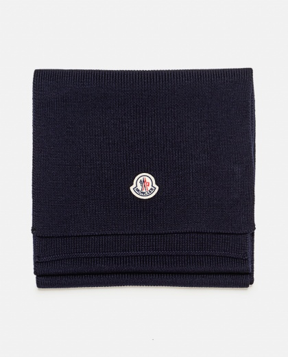 Virgin wool scarf Men Moncler 000271520040000 1
