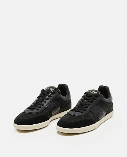 Lace-up sneakers in leather Men Tod's 000268610039610 2