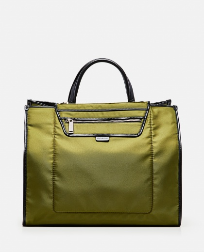 Tote bag with contrasting finishes Women Hogan 000261840038739 1