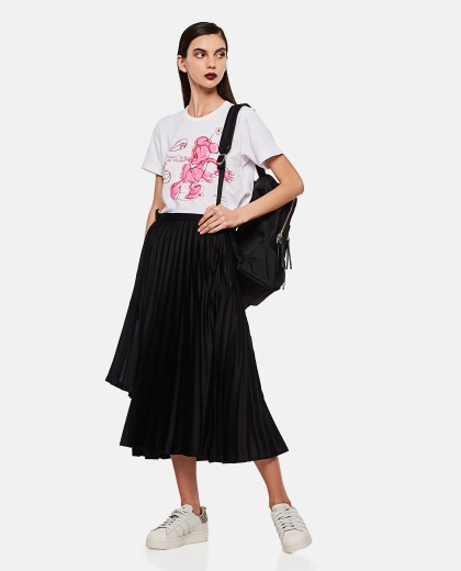 Pleated midi skirt Women Noir Kei Ninomiya 000275270040559 2