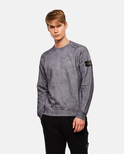 Cotton mélange sweatshirt Men Stone Island 000270970039915 1