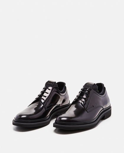 Smooth leather lace-up Men Tod's 000268540039602 2