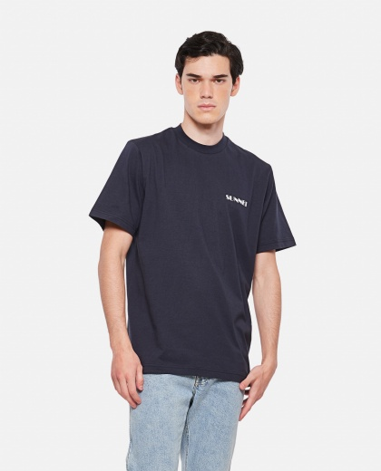 SUNNEI X BIFFI cotton t-shirt Men Sunnei x Biffi 000300280044142 1
