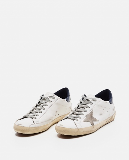 'Superstar' sneakers in leather and suede Men Golden Goose 000269280039694 2