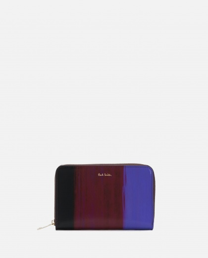 Wallet with brushed print Women PS Paul Smith 000233330034486 1
