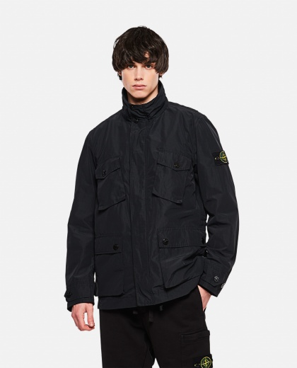 Opaque nylon saharan jacket Men Stone Island 000292450043051 1