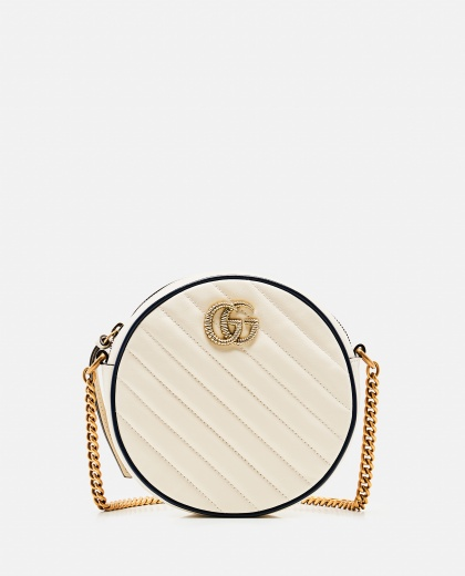 Mini GG Marmont leather shoulder bag