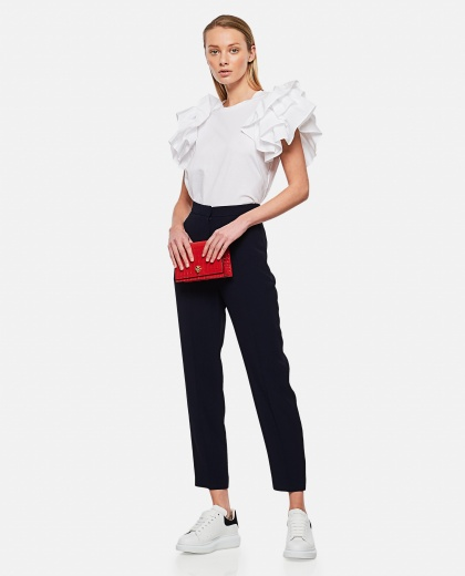 High-waisted tailored trousers Donna Alexander McQueen 000284980042015 2