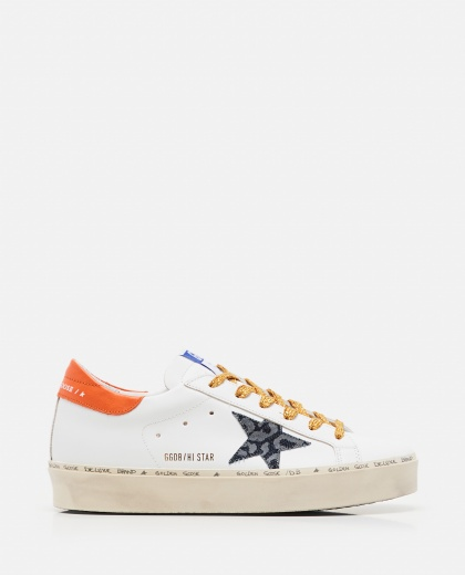 Sneaker Hi Star classic in pelle Donna Golden Goose 000286870042311 1