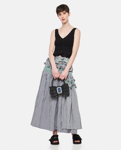 Skirt with ruffles Donna Molly Goddard 000305120044758 2