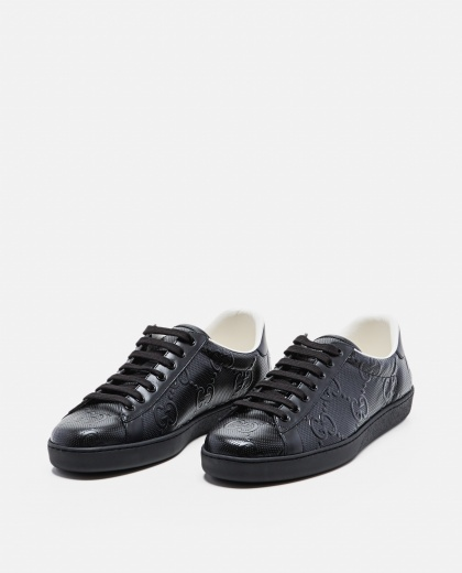 Ace sneaker with embossed GG motif Men Gucci 000267890039517 2