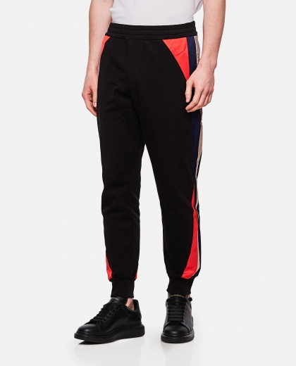 Sporty cotton trousers  Men Alexander McQueen 000214920031905 1