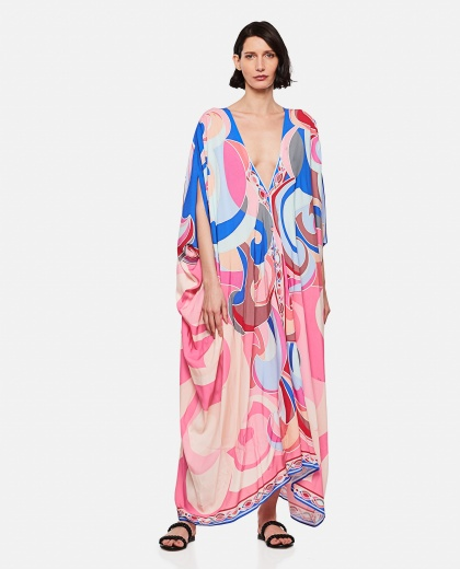 Quirimbas cover-up with print Women Emilio Pucci 000296000043516 1