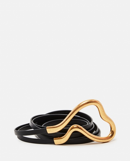 Double belt in Nappa leather Women Bottega Veneta 000275050040509 1