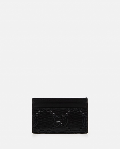 Card holder with embossed GG motif Men Gucci 000293410043210 1