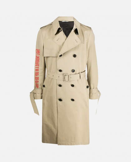 Trench coat with print Men Valentino 000218090032324 1