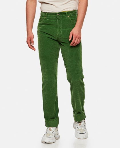 Corduroy velvet trousers Men Gucci 000269610039728 1