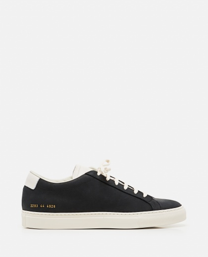 Achilles Low sneakers in nabuk leather Men Common Projects 000305520044801 1