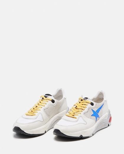 Leather and technical fabric Running sole sneakers  Men Golden Goose 000292360043042 2