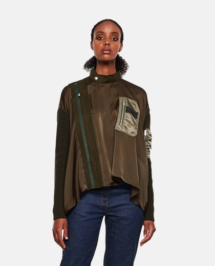 Asymmetric blouse Women Sacai 000274710040446 1