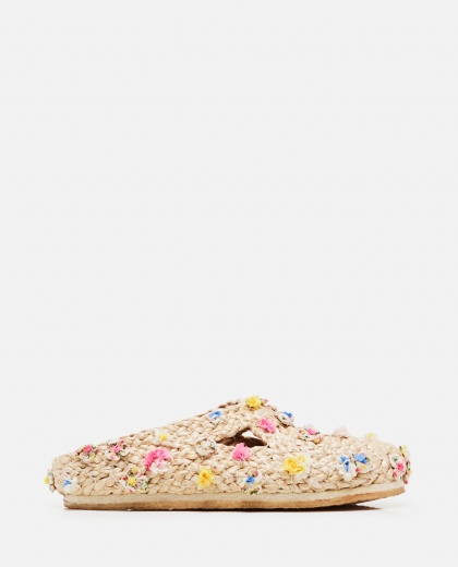 Raffia slippers Women Péro 000318940046687 1