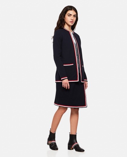 Cardigan in cotone  Donna Thom Browne 000274860040468 2