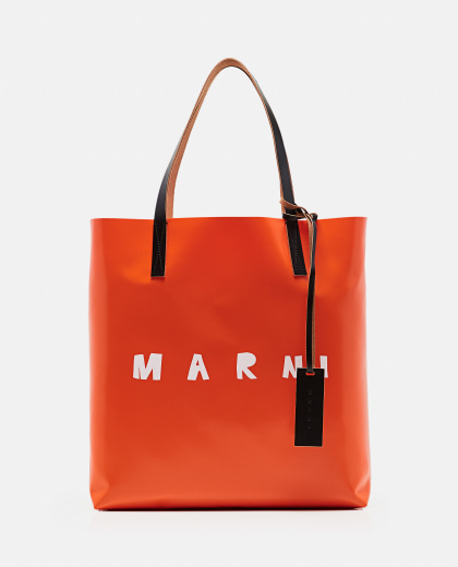 Tote bag with logo print Women Marni 000289870042700 1