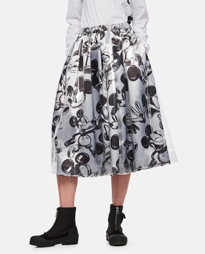 Mickey Mouse print skirt Women Comme des Garcons 000316320046344 1