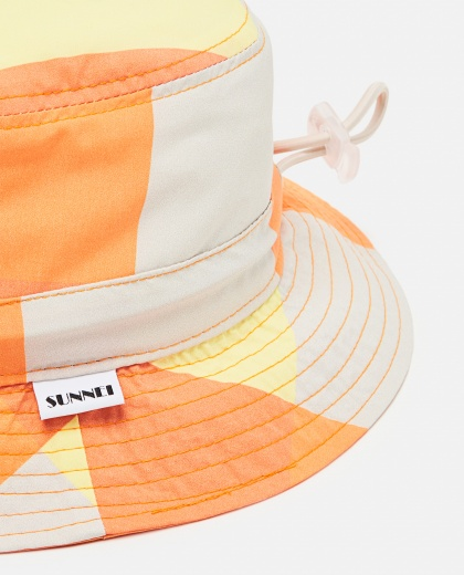 SUNNEI X BIFFI  Bucket hat in nylon Men Sunnei x Biffi 000300200044134 2