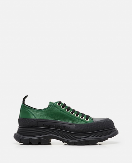 Tread Slick Lace-up Shoes Men Alexander McQueen 000291110042858 1