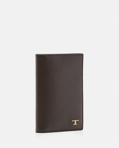 Wallet in refined leather  Men Tod's 000268710039620 2