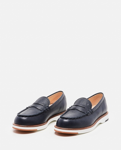 Hammered leather loafer Women Tod's 000297000043681 2