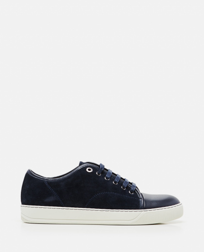 Leather Lace-up sneakers  Men Lanvin 000014020045390 1