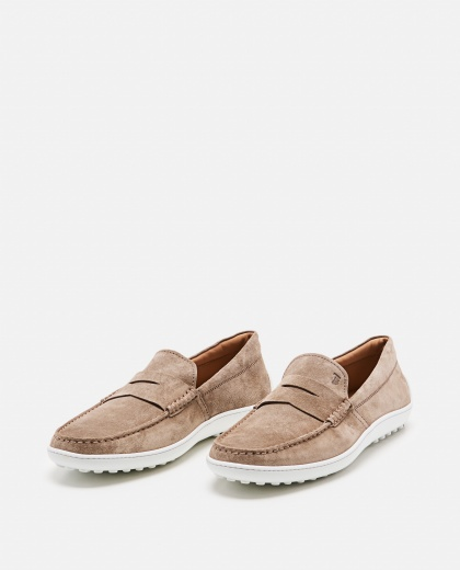 Loafers with contrasting sole Men Tod's 000221820032820 2