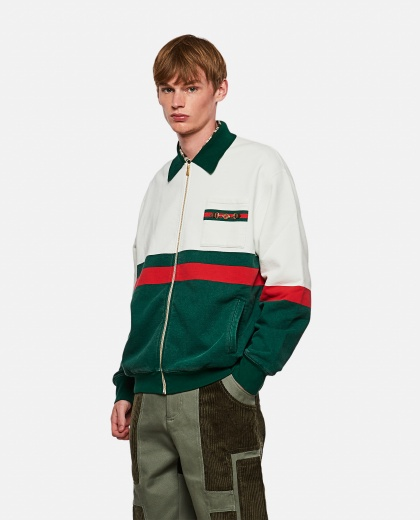 Sweatshirt with zip Men Gucci 000267630039484 1