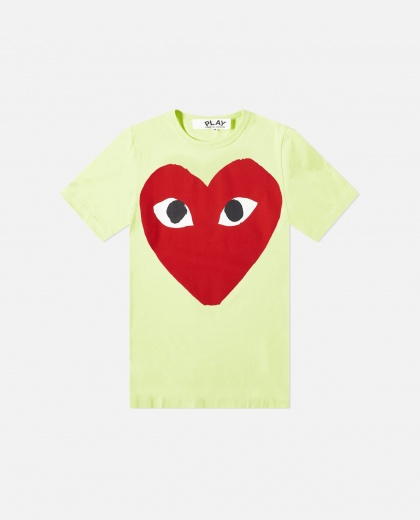 Logo print T-shirt Men Comme des Garcons Play 000230930034077 1