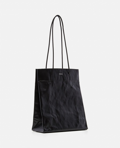 Tote bag with wrinkled effect Women Medea 000262590038851 2
