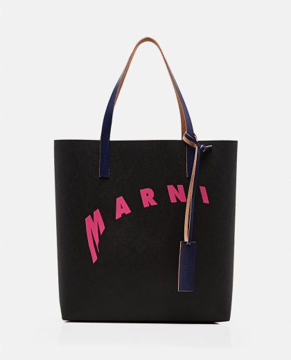 Shopping bag in cellulose Women Marni 000289880042702 1