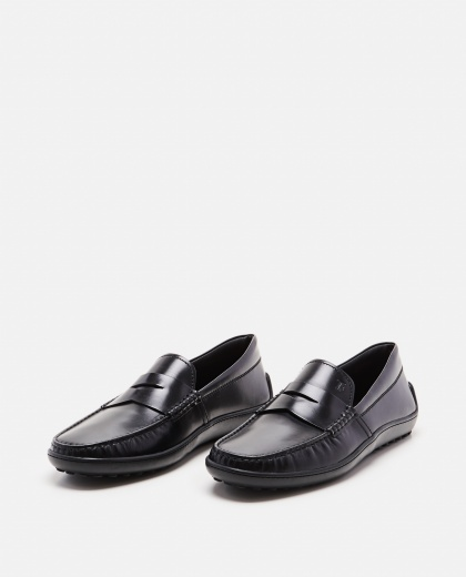 Loafers with black rubber sole Men Tod's 000221800032817 2