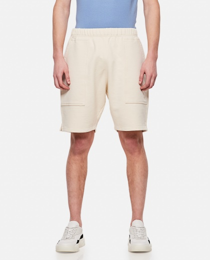 Cotton sports shorts Men AMI Paris 000291300042894 1