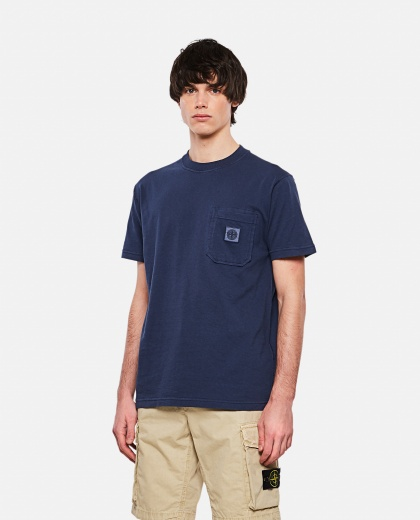 Cotton crew neck T-shirt Men Stone Island 000292820043132 1