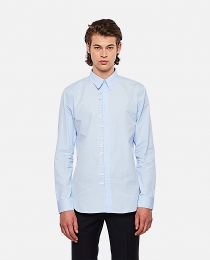 Cotton  Shirt with print Men Givenchy 000253020037389 1