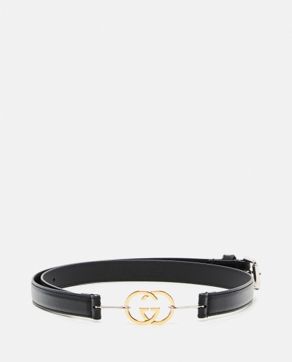 Belt with GG buckle Women Gucci 000274040040360 1