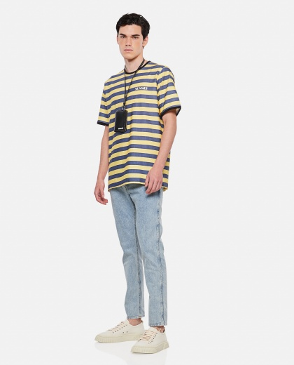 SUNNEI X BIFFI striped cotton t-shirt Men Sunnei x Biffi 000300310044145 2