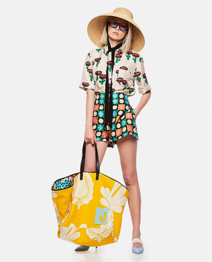 Shorts with geometric print Women La DoubleJ 000239460036792 2