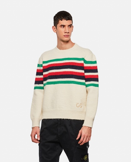 Alpaca wool  pullover  Men Gucci 000269640039733 1