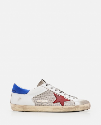 Sneakers Super-star in pelle  e tessuto  Uomo Golden Goose 000292400043046 1